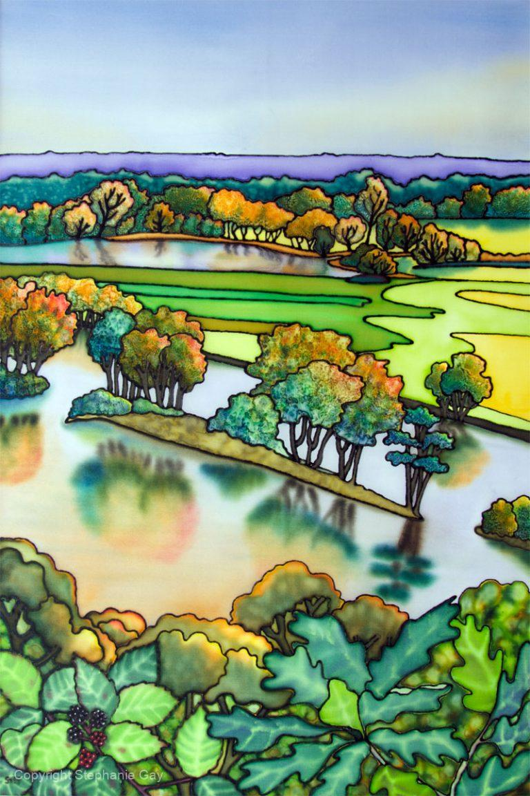 Winner of Berkshire and Buckinghamshire Life Landscape Painter of the Year 2017