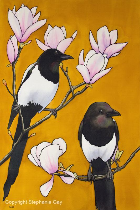 Two for Joy - Magpies and Magnolia