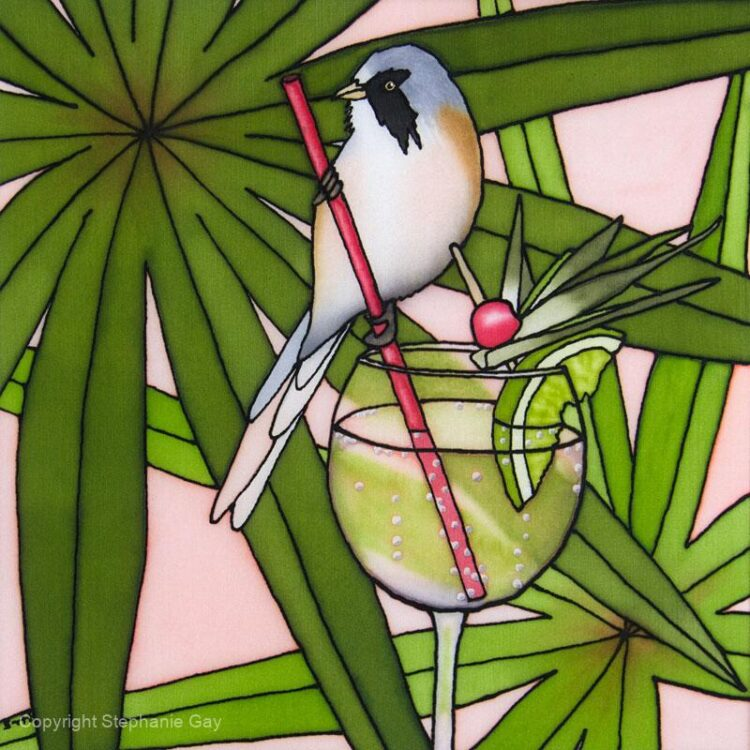 Gin and Tit (Bearded Tit and Gin & Tonic)