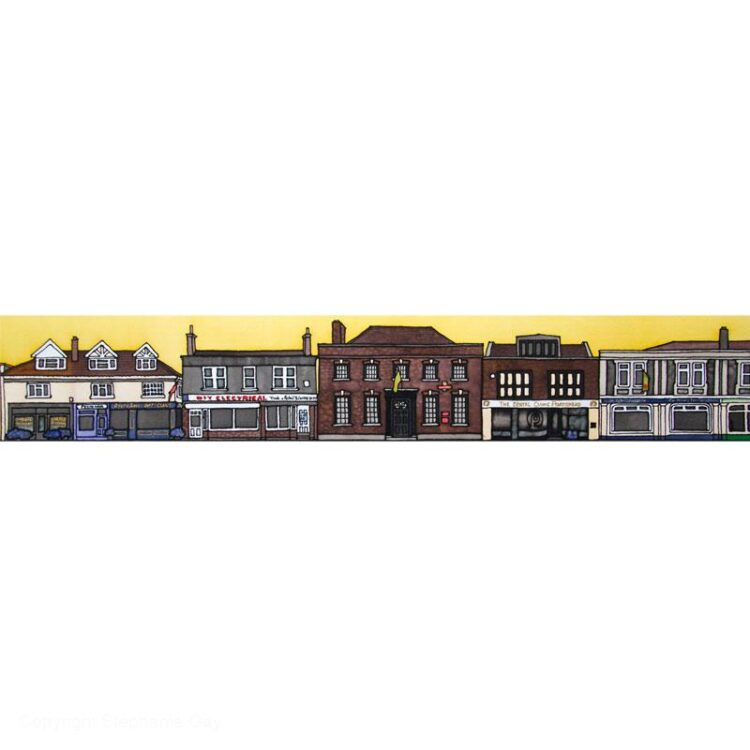 Portishead High Street - The Big Kitchen to St Peter's